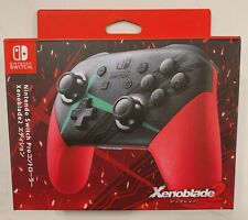 Genuine Nintendo Switch Pro Wireless Controller - Xenoblade Chronicles 2 Edition