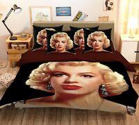 3D Beautiful Marilyn Monroe KEP354 Bed Pillowcases Quilt Duvet Cover Kay