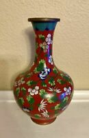 FINE ANTIQUE CHINESE CLOISONNE VASE - 19TH CENTURY TO EARLY 20TH CENTURY