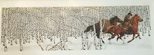Bev Doolittle Sacred Ground Mint Condition Signed and Numbered Print 46136/69996
