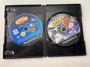 Crash Nitro Kart PS2 Sony Playstation 2 Crash Tag Team Racing Black Case