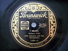 1931 NYC Jazz 78  DON REDMAN & HIS ORCH - I Heard / Trouble, Why Pick On Me *HEA