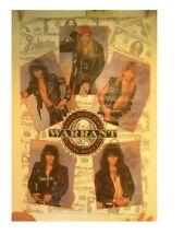 Warrant Poster Band Member Shots Vintage Shot
