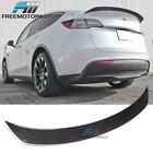 Fits 20-21 Tesla Model Y IKON Style Rear Trunk Spoiler Wing Carbon Fiber
