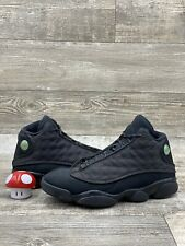 Nike Air Jordan XIII 13 Retro Black Cat Grey Gray Reflective 414571-011 Sz 10.5