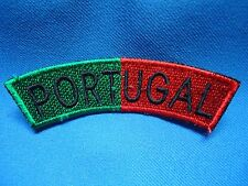 PORTUGAL PORTUGUESE MILITARY ARMY UNIFORM SHOULDER FLAG PATCH 96mm
