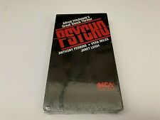 Psycho (1960) VHS Alfred Hitchcock 1986 MCA Release Horror - SEALED