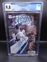 Silver Surfer Black 1 CGC 9.8 Variant Hidden Gem NM/MT Mike Zeck 1:100