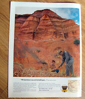 1963 Ethyl Gasoline Ad Photo by Raymond Jacobs at Palo Duro Canyon Texas