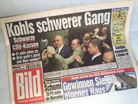 Bildzeitung vom 01.12.1999 * 17. 18. 19. 20. Geburtstag Geschenk * Helmut Kohl