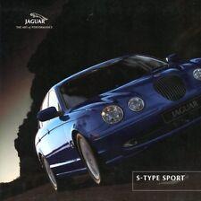Jaguar S-Type Sport 2001 UK market sales brochure
