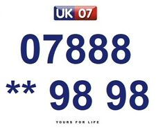 07888 ** 98 98 - Gold Easy Memorable Business Platinum VIP UK Mobile Numbers
