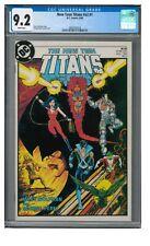 New Teen Titans #v2 #1 (1984) George Perez Cyborg Starfire+  CGC 9.2 LK614