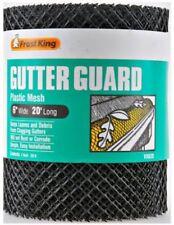 "Frost King VX620 6"" X 20' Black Plastic Mesh Gutter Guard"