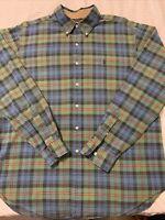 Men's Polo Ralph Lauren LS Button Up Shirt. XL No Issues.