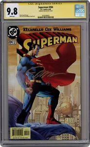 Superman #204A CGC 9.8 SS 2004 2535288003