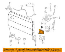 FORD OEM 94-04 Mustang-Door Hinge-Upper XR3Z6322800AA