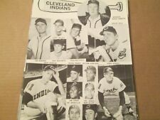 JKW 1963 Cleveland Indians ADCOCK,TEBBETTS..REDUCED