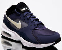 Nike Air Max 93 Purple Men New Neutral Indigo Lifestyle Sneakers 306551-500