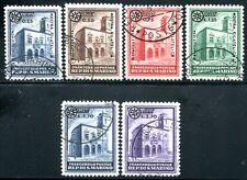 SAN MARINO 1934 202-207 gestempelt TADELLOS 175€(J7645