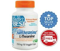 Doctor's Best Suntheanine L-Theanine, 150 mg, 90 Veggie Caps