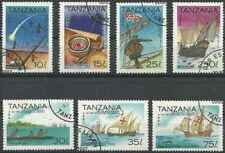 Timbres Bateaux Christophe Colomb Tanzanie 1173/9 o lot 27368