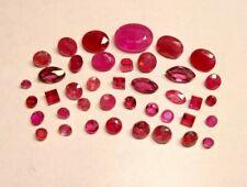 Loose 6.435ct Natural Mixed Ruby Gemstone Lot