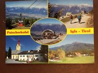 g1h postcard used patscherkofel igls tirol views