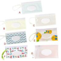 Portable Baby Wet Wipes Box Cleaning Wipe Convenient Storage Bag T1Y5