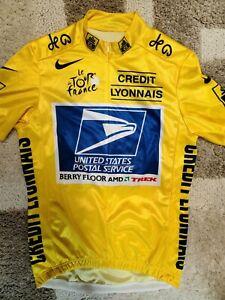 Lance Armstrong, Nike, USPS, Tour De France Jersey