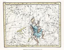 Astronomy Celestial Atlas Jamieson 1822 Plate-04 Art Paper or Canvas Print