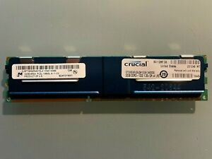 MICRON / CRUCIAL 32GB (1 x 32) PC3L-10600L 4Rx4 SERVER ECC RAM MT72KSZ4G72LZ