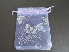 Organza Gift bags Printed 7x9cm 10x12cm 11x16cm Wedding favour Bags UK seller