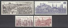 CZECHOSLOVAKIA 1967 **MNH SC# 1443 - 1446  International Tourist Year