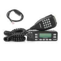 Leixen VV-898 VHF/ UHF 136-174/400-470MHz Car Truck Mobile Radio + USB Cable