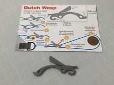 Dutchwear Gear Bling - Dutch Titanium Wasp - 2.2gr each Hammock Hiking Bushcraft