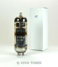 NOS Amperex Holland 6KG6A/EL509 Grey Plate 2 Top O Get Vacuum Tube 105%