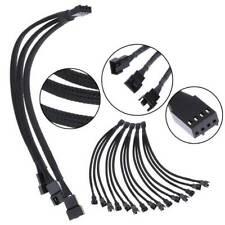 4 Pin Fan Splitter CPU 4PIN PWM Cooling Fan 1 to 3 Adapter Cable 27CM NMD/&LR PWM Fan Splitter Cable