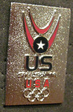 SOCHI 2014 Olympic USA SPEEDSKATING  Team delegation pin very rare