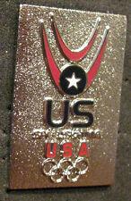 SOCHI 2014 Olympic USA SPEEDSKATING  Team delegation pin very rare
