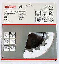 BOSCH TCT CIRCULAR SAW BLADE 210 X 30mm 16T - D 75 L