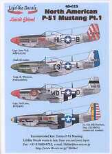 Lifelike Decals 1/48 NORTH AMERICAN P-51 MUSTANG Part 1