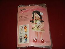 "Bucilla DOROTHY & TOTO 19"" Tall Wizard of OZ Doll Fabric Felt Kit - 2374"