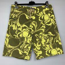 PATAGONIA Men's Board Shorts Size 32 Wavefarer Swim Trunks Floral Print