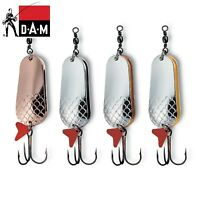 DAM Effzett Twin Spoon Fishing Lure 3.2 - 10cm / 6 - 60g  Various colours