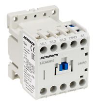 Contactor AC3 SCHRACK Cubico Mini  up to 5.5KW/12A/400V, 24VAC, 24VDC, 230VAC