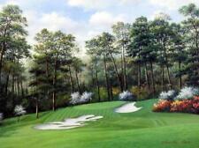 """Charles Beck 10th Hole at Camella Golf Art Print 16"""" x 12"""""""