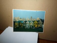 VICTORIAN HOUSES San Francisco Ca SMITH NOVELTY Colorscans SANDOR BALATONI 1982
