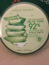 Nature Republic Aloe Vera 92% Soothing Gel/ Make In Korea