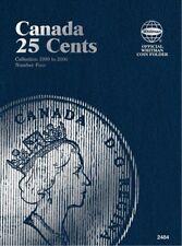 Canadian 25 Cents No. 4 1990-2000, Whitman Coin Folder/Album